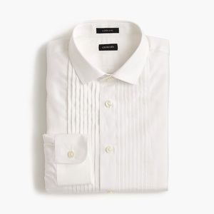 NWT Crewcuts Boys' Ludlow tuxedo shirt